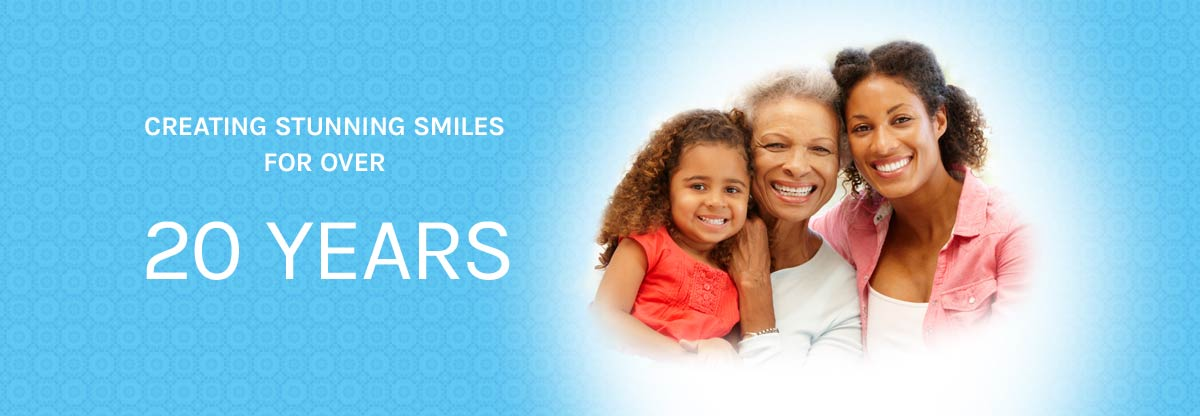 Creating stunning smiles for over 20 years